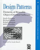 Gang of Four: Design patterns